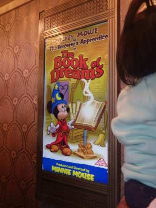 Meeting Mickey and Minnie poster plain