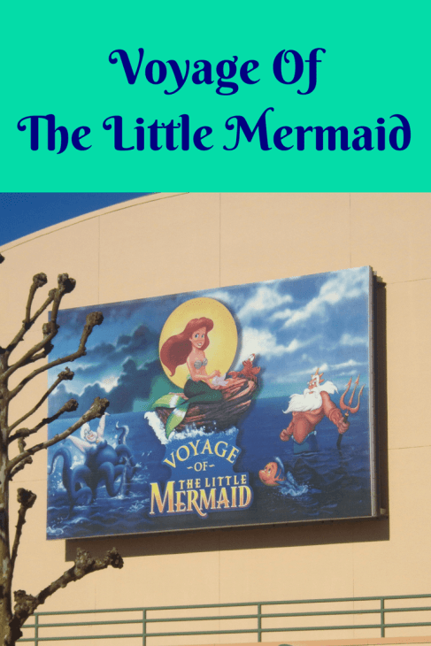 Voyage Of The Little Mermaid disney live stage shows
