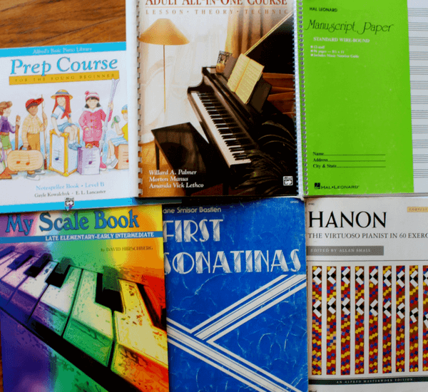 My Favorite Piano Books For Beginner Students