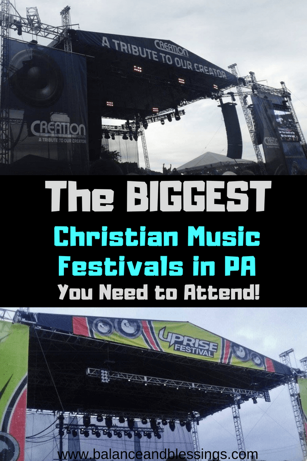 The Biggest Christian Music Festivals in PA you need to attend!
