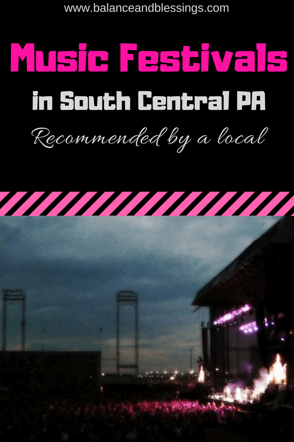 Music Festivals in South Central PA (Recommended by a local)