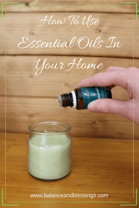 Essential Oils In Your Home candles