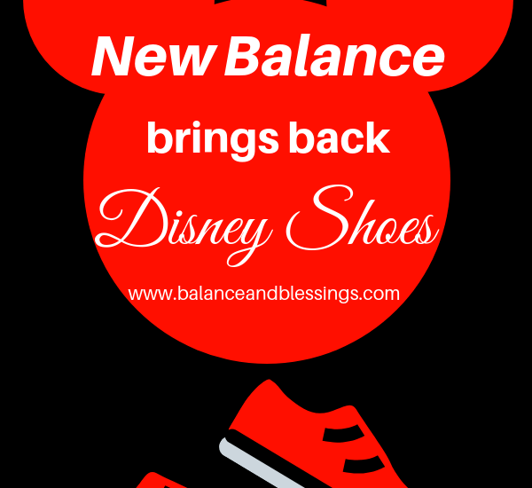New Balance brings back Disney shoes