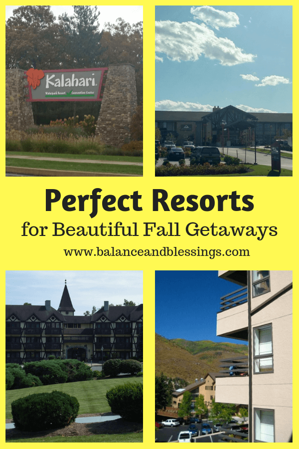 Perfect Resorts for Beautiful Fall Getaways