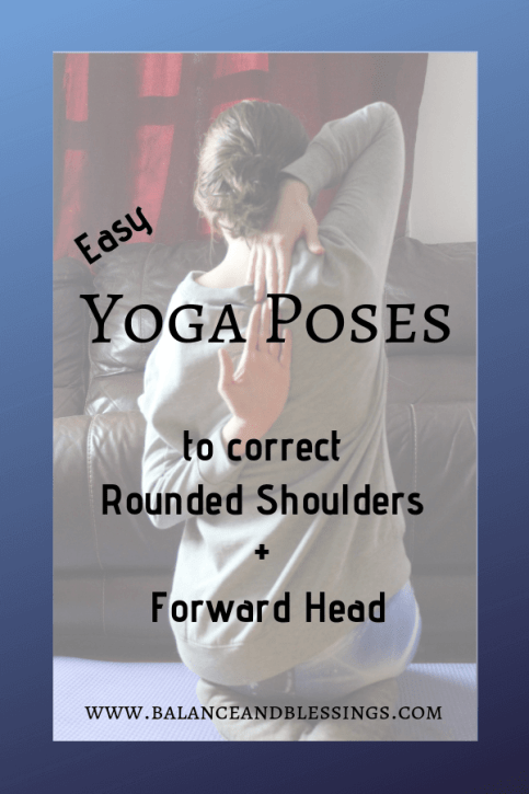 easy yoga poses to correct rounded shoulders