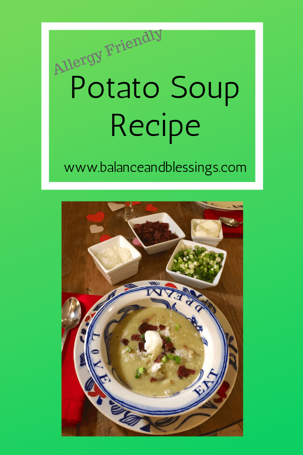 Allergy Friendly Potato Soup
