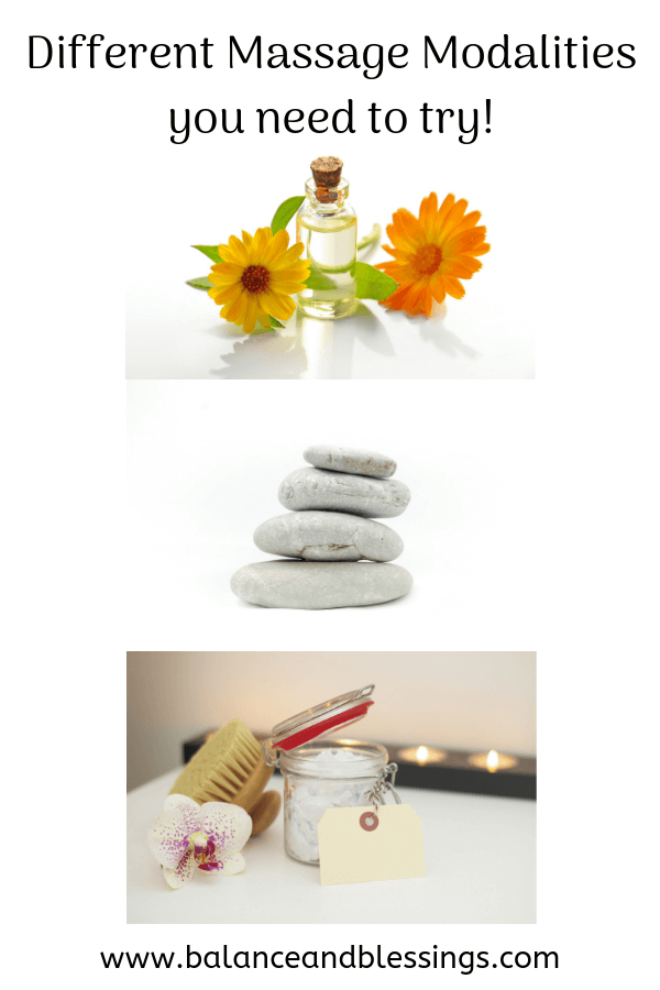 different massage modalities you need to try