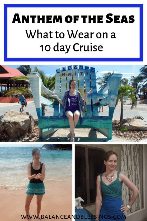 what to wear on a 10 day cruise