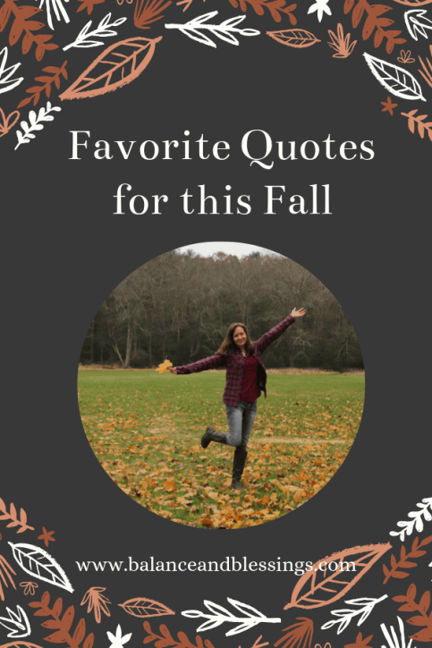 Favorite Quotes for this Fall 2019