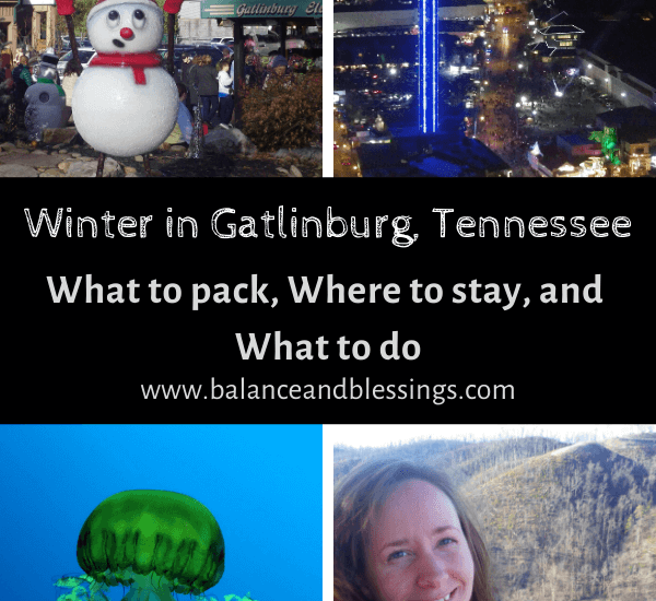 Winter in Gatlinburg, Tennessee what to do