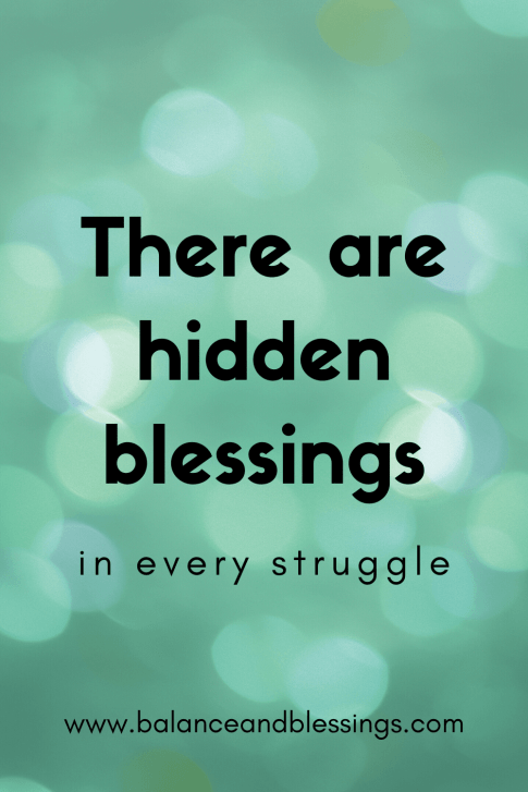 there are hidden blessings uplifting quotes