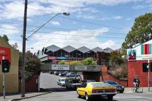 South Melbourne Market - old and new architecture