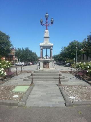 Boer War Memorial at South Melbourne Town Hall