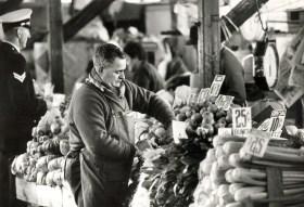 South Melbourne Market historic photo