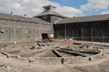 The foundation of one of the Pentridge Panopticons was recently unearthed