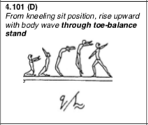 Rise up toe stand