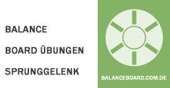 Balance Board Übungen Sprunggelenk
