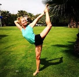 Maria Ekman Yoga-instruktör World Class