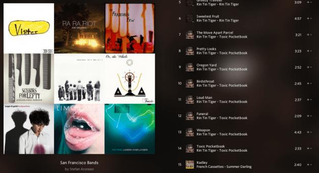 Rdio_Playlist_SF_Bands