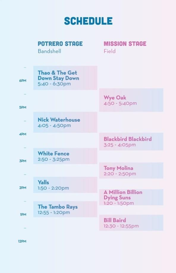 phono del sol 2014 schedule