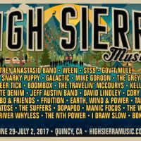 High Sierra Music Festival 2017 Lineup Announcement