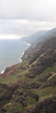 The coastline in Hawaii. Failure is often hard to overcome but always leads to success.