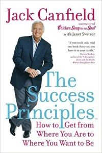 The cover of Jack Canfield's The Success Principles is shown.