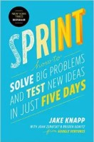 The cover for Sprint: Solve Big Problems and Test New Ideas in Just Five Days is shown. It ranks tenth on Balanced Achievement's list of the top 10 self-help books of 2016.