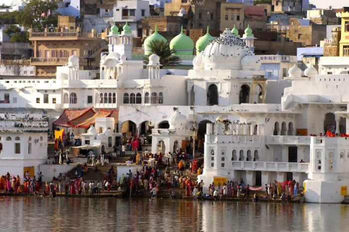 One of the sacred cities of India is Ajmer.