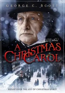 An image shows the cover for the 1984 movie A Christmas Carol which illuminates the importance of asking ourselves the conscious question 'Will I regret this in the future?'