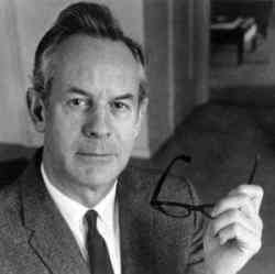 An image shows American existential psychologist Rollo May who's largely considered one of the most influential psychologists of the Humanistic movement.