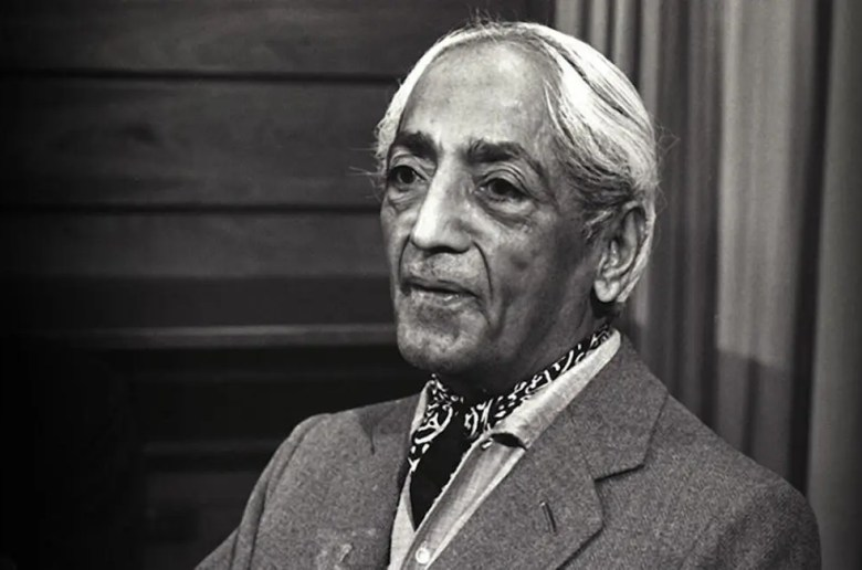 An image shows the great Indian philosopher Jiddu Krishnamurti. This picture serves as the featured image for Balanced Achievement's article 20 Thought-Provoking Jiddu Krishnamurti Quotes