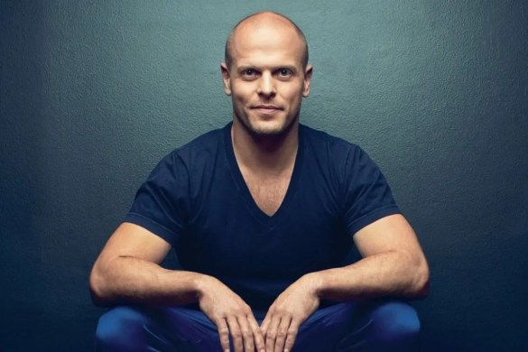 An image shows the iconic self-help leader Tim Ferriss. This picture serves as the featured image for Balanced Achievement's article on his life and teachings.