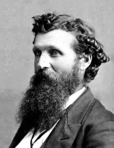 A headshot image of John Muir, who along with other famous naturalists illuminated the wisdom that can be found in nature, is pictured.