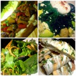 Salads Galore at Enolo Wine Bar