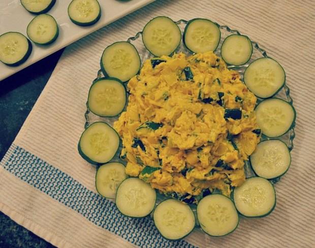 vegan zucchini dip