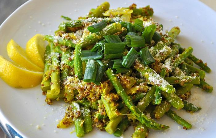 quinoa-vegan-asparagus