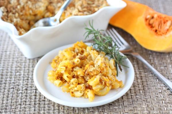 squash mac n cheese