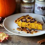 Wholesome Vegan Pumpkin Cheesecake (Paleo +  No Bake!)