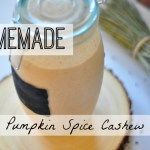 Homemade Cashew Milk + My Recent Podcast