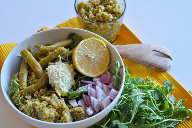 asparagus arugula salad