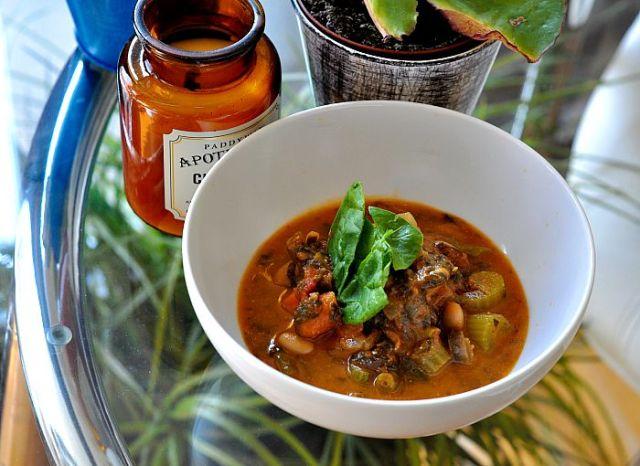 low gi minestrone soup