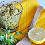 3 Step Quinoa Pesto