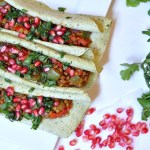 Plant-Based Pomegranate Tacos