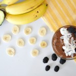 Protein Avocado Banana Chocolate Pudding
