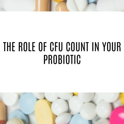 importance of cfu in probiotics