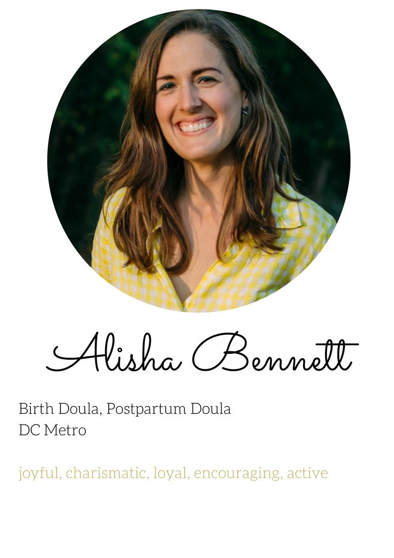 alisha bennett birth and postpartum doula