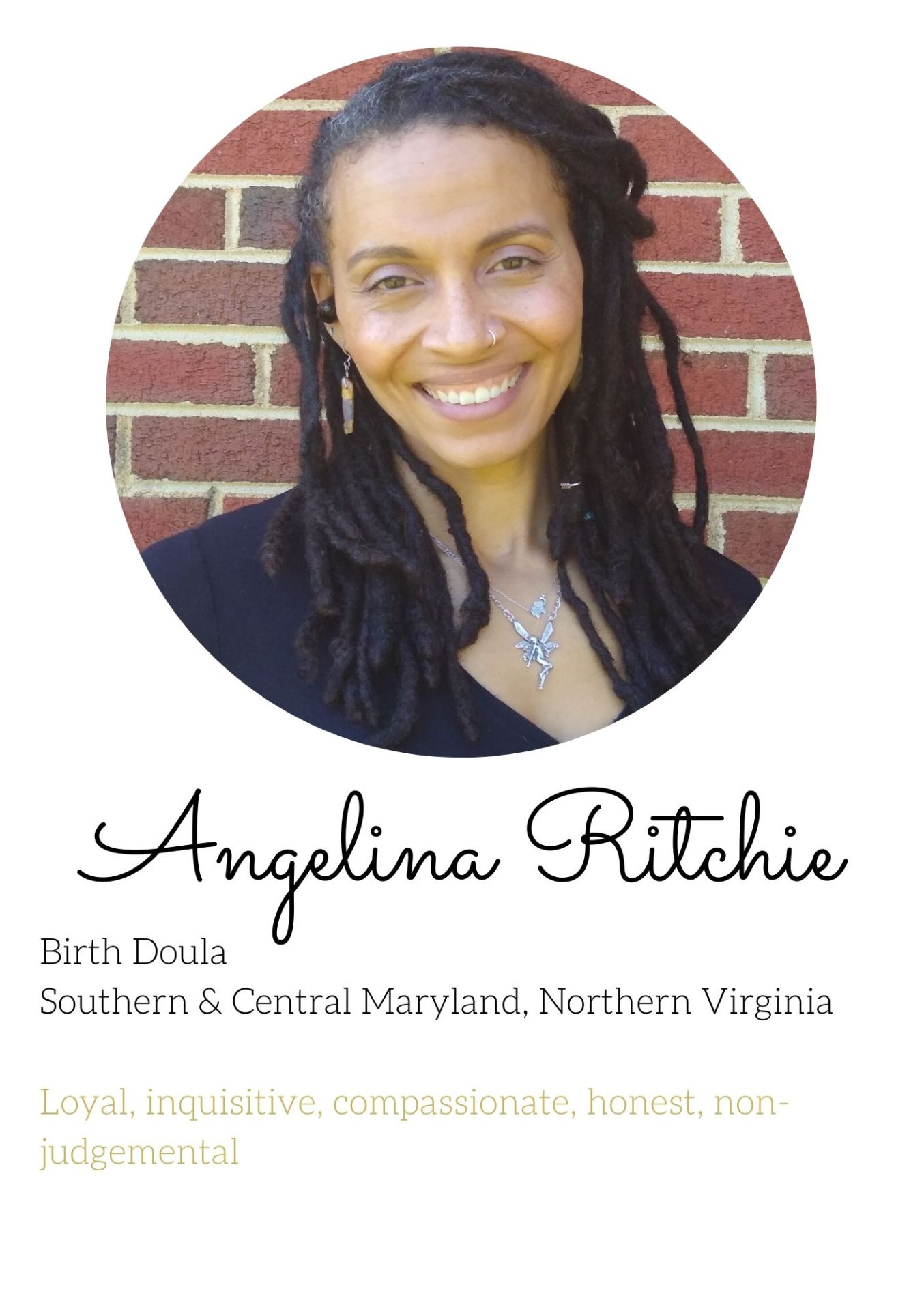 angie postparum and birth doula experienced nothern va dc