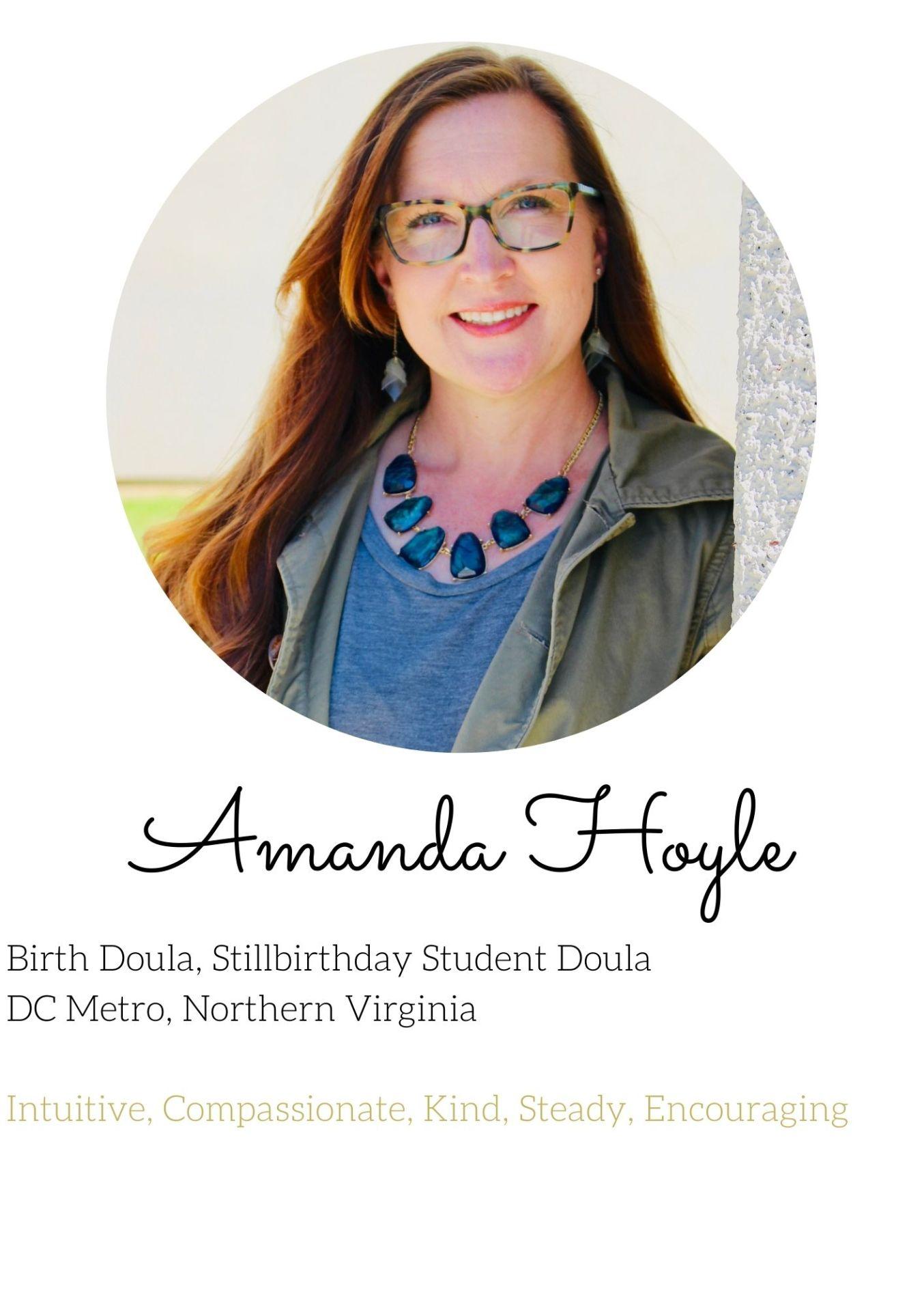 Amanda hoyle military doula experienced dc northern virginia