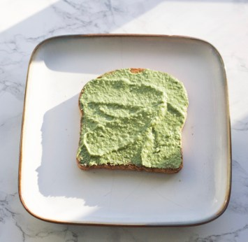 pesto on toast!